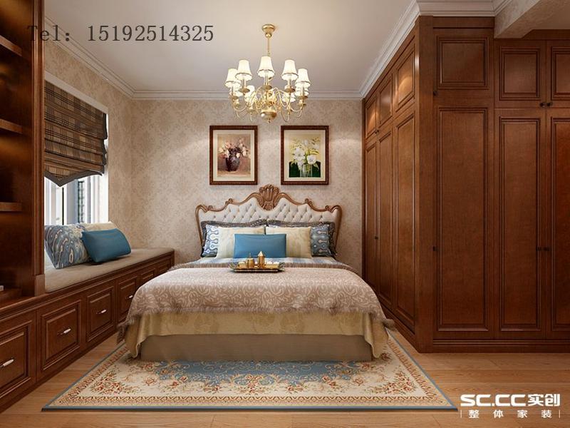三居 海信 都市果岭 欧式 卧室图片来自快乐彩在海信·都市果岭147平三居室欧式的分享