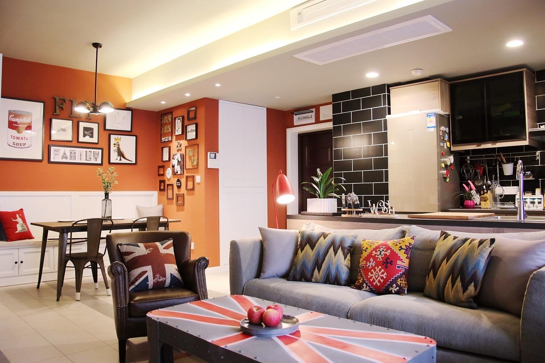 华洲城天峰 现代 两室 峰光无限 客厅图片来自我是小样在华洲城天峰两室96平现代风格的分享