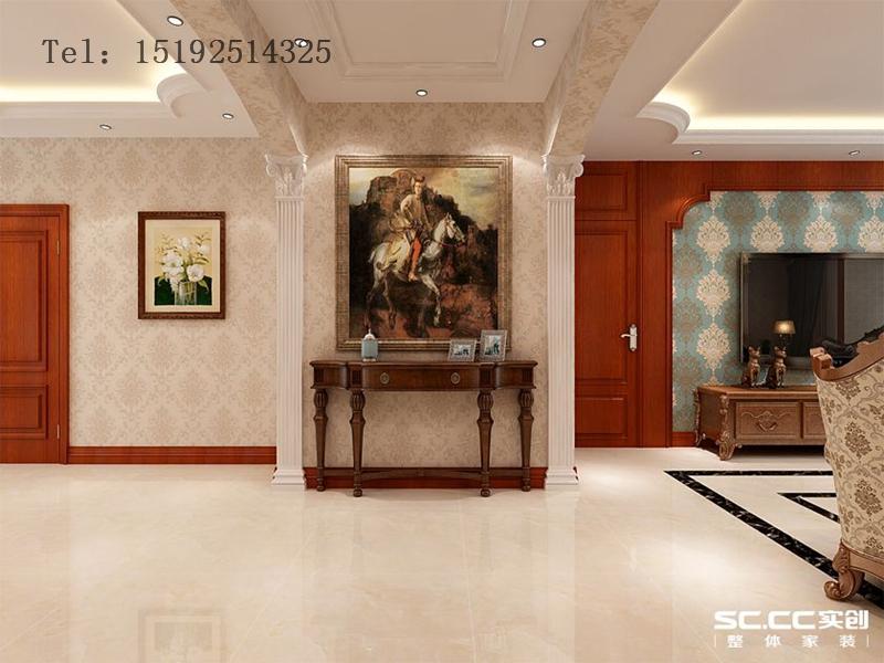 三居 海信 都市果岭 欧式 玄关图片来自快乐彩在海信·都市果岭147平三居室欧式的分享