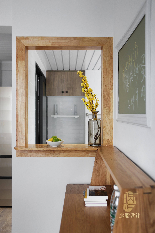 三居 旧房改造 北欧 胭脂设计 家装设计 室内设计 餐厅图片来自设计师胭脂在华工旧房改造2—素简生活的分享