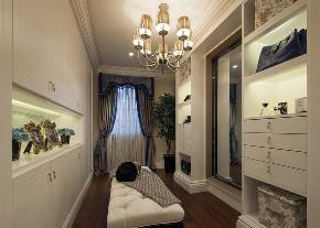 欧式 法式 别墅 跃层 复式 大户型 小资 衣帽间图片来自高度国际姚吉智在441平米法式风遇见生活之惬意的分享