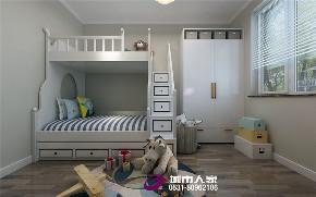 简约 北欧 儿童房图片来自济南城市人家装修公司-在三庆汇德公馆装修案例效果图的分享