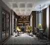安澜西郊别墅项目装修新古典现代风格设计,上海腾龙别墅设计作品,欢迎品鉴