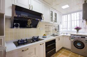 三居 收纳 旧房改造 美式 胭脂设计 家装 纯设计 厨房图片来自设计师胭脂在胭脂原创设计:梦天家园的分享