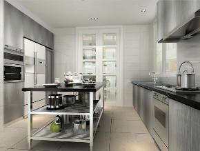 三湘海尚 别墅装修 现代风格 腾龙设计 厨房图片来自周峻在三湘海尚别墅装修现代风格设计的分享