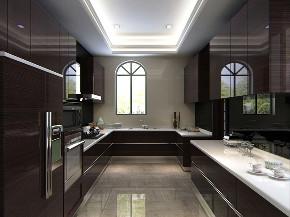 碧桂园 别墅装修 现代风格 腾龙设计 厨房图片来自腾龙设计在碧桂园别墅装修新中式风格设计的分享