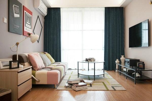 客厅图片来自言白设计在混搭的分享