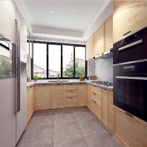 金地都会艺 别墅装修 北欧风格 腾龙设计 厨房图片来自周峻在金地都会艺境别墅装修北欧风格的分享