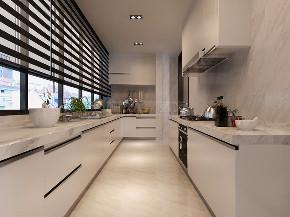 简约 现代风格 复式装修 西安装修 装修公司 厨房图片来自西安城市人家装饰王凯在秦汉佳苑320平现代风格装修的分享