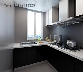 三居 滨海一号 后现代 厨房图片来自实创装饰小彩在滨海一号105平三居室,后现代的分享