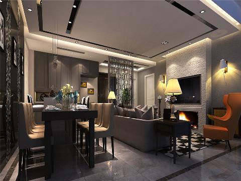 尚汇豪庭现代风格设计方案展示