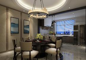 餐厅图片来自百家装饰LL在中粮隆玺世家 123平现代风格的分享