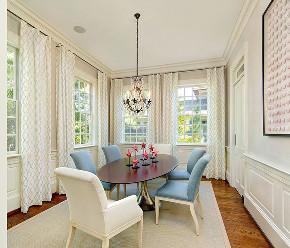 简约 美式 别墅 餐厅图片来自别墅设计师杨洋在自然质朴美式生活-龙湖天琅的分享