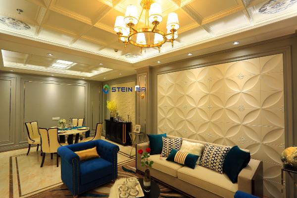 欧式风格客餐厅区