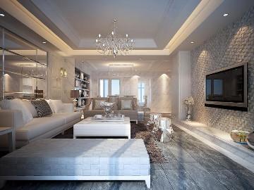 泽星·雅龙湾三室120平现代风格