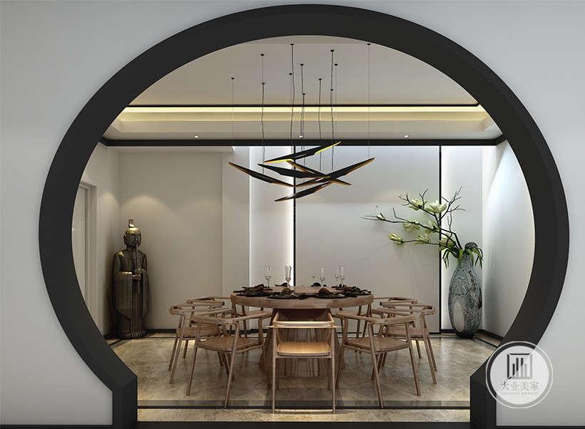 楼盘名称:瑞府别墅 案例风格:新中式   案例户型图片