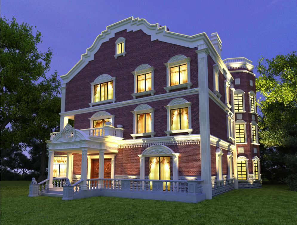 枫丹白露 别墅装修 美式古典 腾龙设计 其他图片来自孔继民在枫丹白露别墅装修美式古典设计的分享