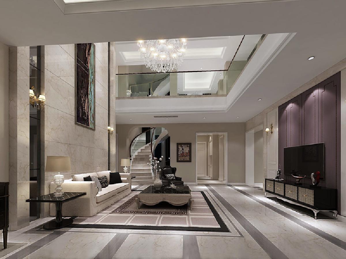 翡翠山庄别墅项目装修现代风格设计,上海腾龙别墅设计作品,欢迎品鉴