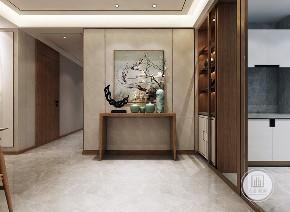 简约 中式 现代 玄关图片来自大业美家 家居装饰在【中冶德贤】含蓄秀美的新中式的分享