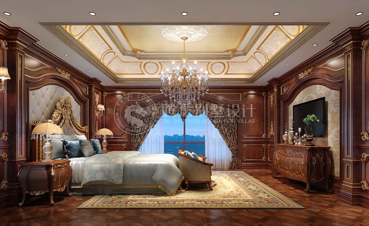 金银岛别墅项目装修欧式古典风格设计,上海腾龙别墅设计师郭建作品图片