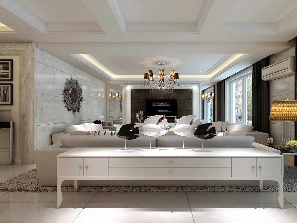 第九城市花园别墅项目装修现代风格设计方案,上海腾龙别墅设计作品,欢迎品鉴