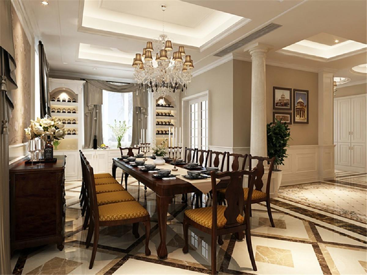 淀湖桃源别墅项目装修欧美风格设计,上海腾龙别墅设计作品,欢迎品鉴