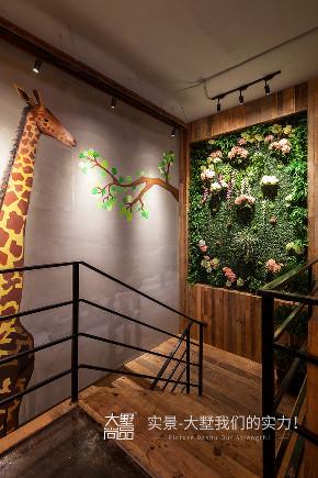 公装 咖啡厅 工业风 楼梯图片来自大墅尚品-由伟壮设计在主题咖啡厅·享自然森林之美的分享