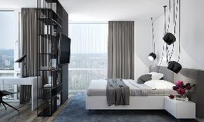 北欧 简约 白领 80后 小资 卧室图片来自北京今朝装饰在北欧的分享