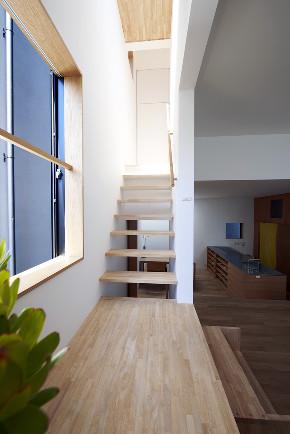 日式 复式 楼梯图片来自北京今朝装饰在日式风格复式的分享