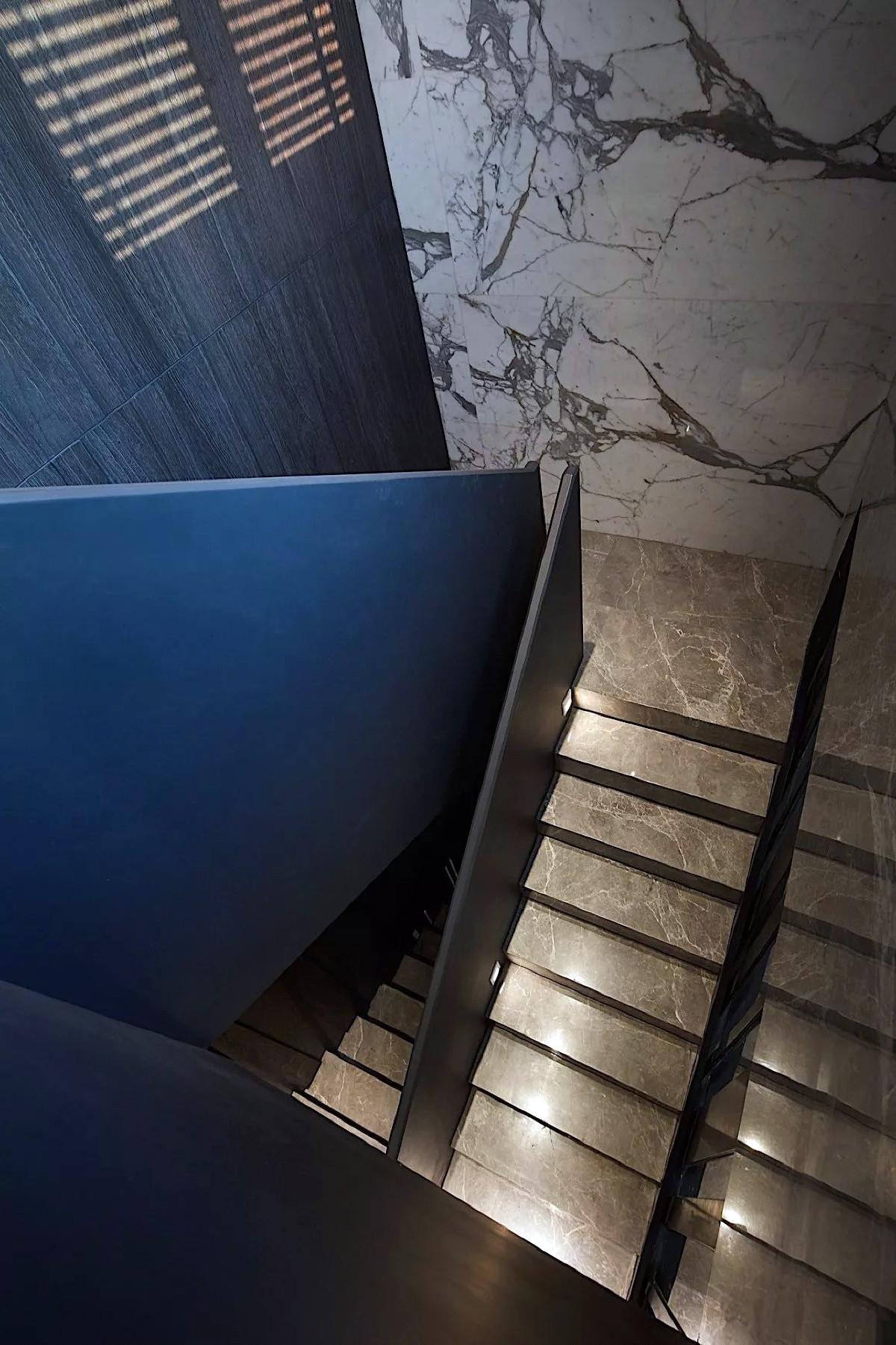 佘山一品别墅项目装修后现代风格设计,上海腾龙别墅设计作品,欢迎品鉴
