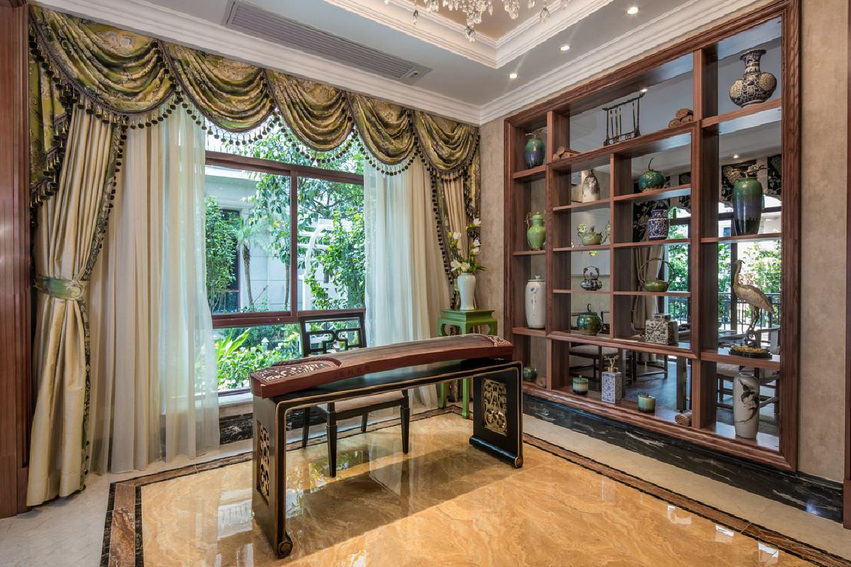 仁恒滨江大平层项目美式风格设计,上海腾龙别墅设计作品,欢迎品鉴
