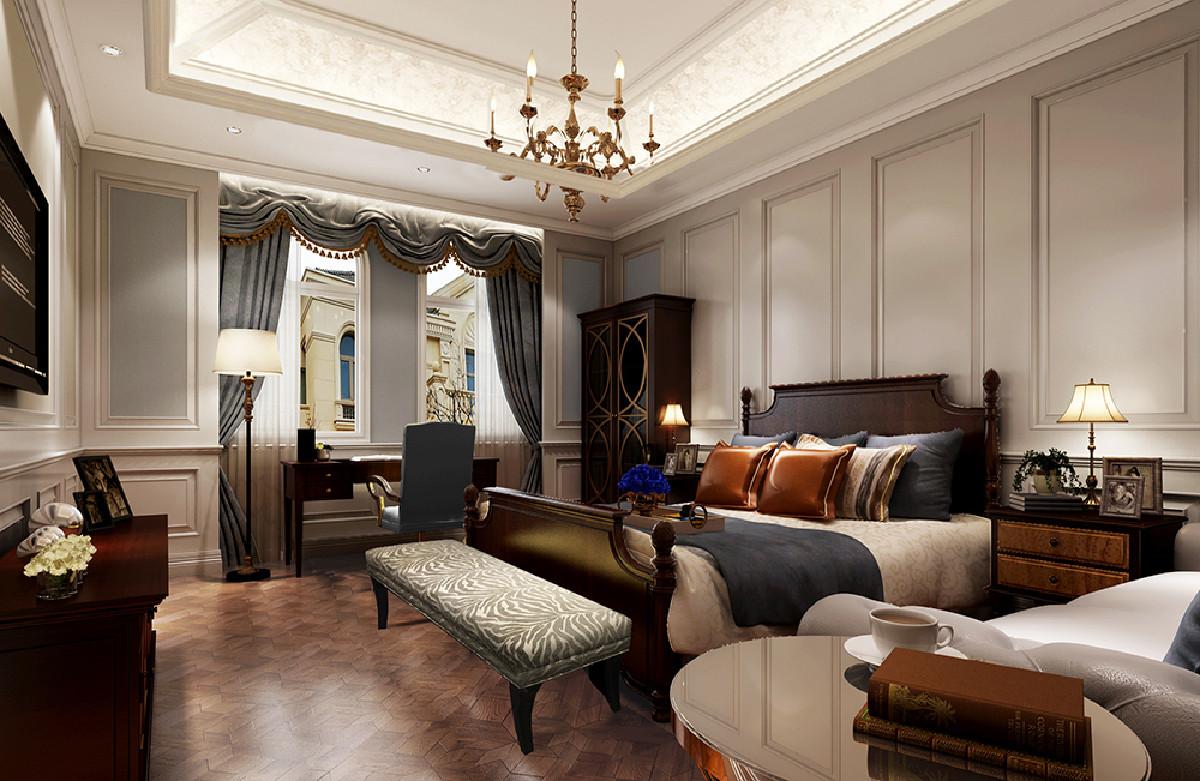 东郊罗兰别墅项目装修欧式风格设计,上海腾龙别墅设计作品,欢迎品鉴