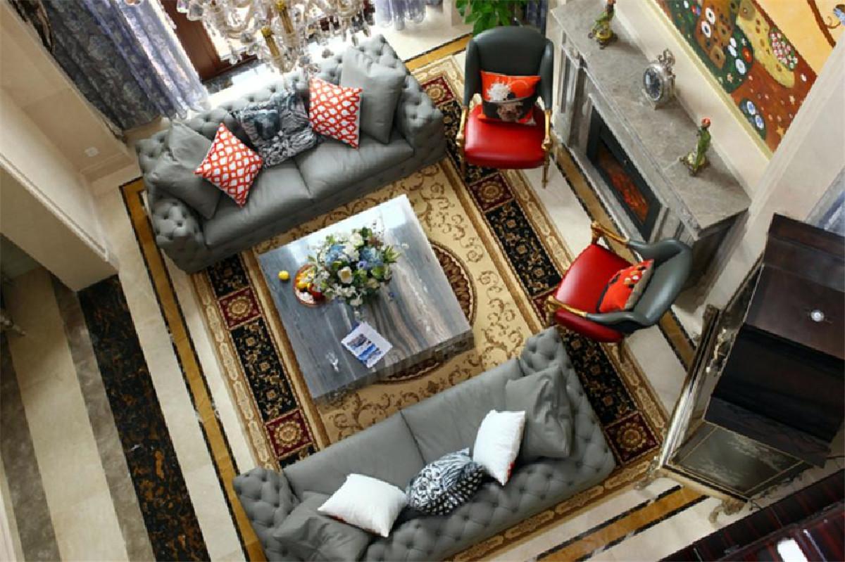 法兰西世家别墅项目装修欧式风格设计,上海腾龙别墅设计作品,欢迎品鉴