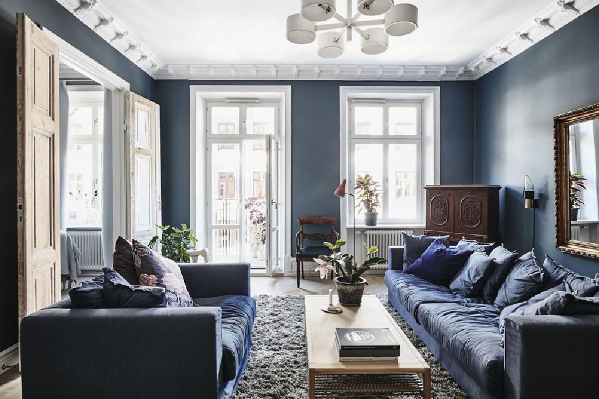陆家嘴世茂滨江装修巴洛克风格设计方案展示,上海腾龙别墅设计作品,欢迎品鉴