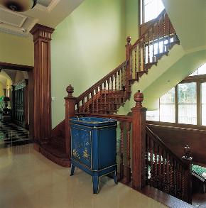 圣安德鲁斯 庄园别墅 别墅装修设 腾龙设计 楼梯图片来自周峻在圣安德鲁斯庄园别墅项目设计的分享