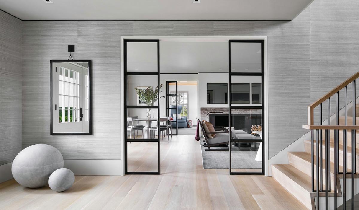 别墅项目装修现代风格设计,上海腾龙别墅设计作品,欢迎品鉴