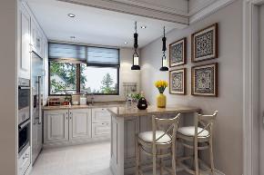 崇明岛别墅 金茂逸墅 别墅装修设 腾龙设计 厨房图片来自周峻在崇明岛金茂逸墅别墅美式风格设计的分享