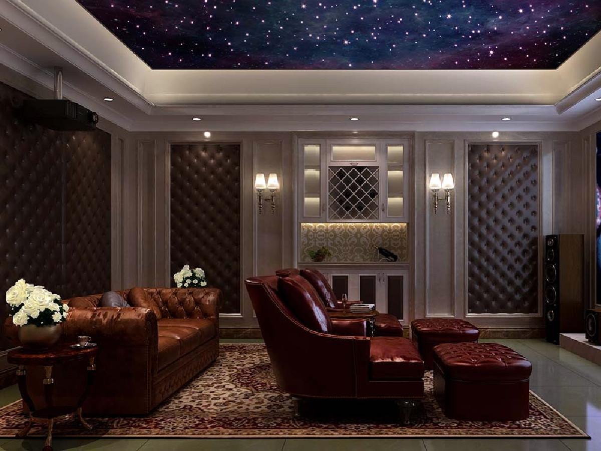 九龙仓国宾1号别墅项目装修欧式古典风格设计,上海腾龙别墅设计作品,欢迎品鉴