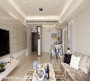 餐厅 因拆除厨房墙面造成的地面破口,赵玲室内设计以特色花砖填补,呈现与客厅相呼应的地毯意象。