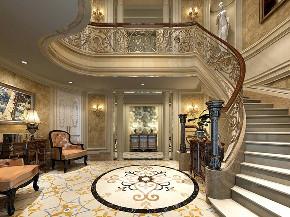 九龙仓国宾 国宾1号 腾龙设计 欧式古典 楼梯图片来自腾龙设计在九龙仓国宾1号550平别墅欧式古典的分享