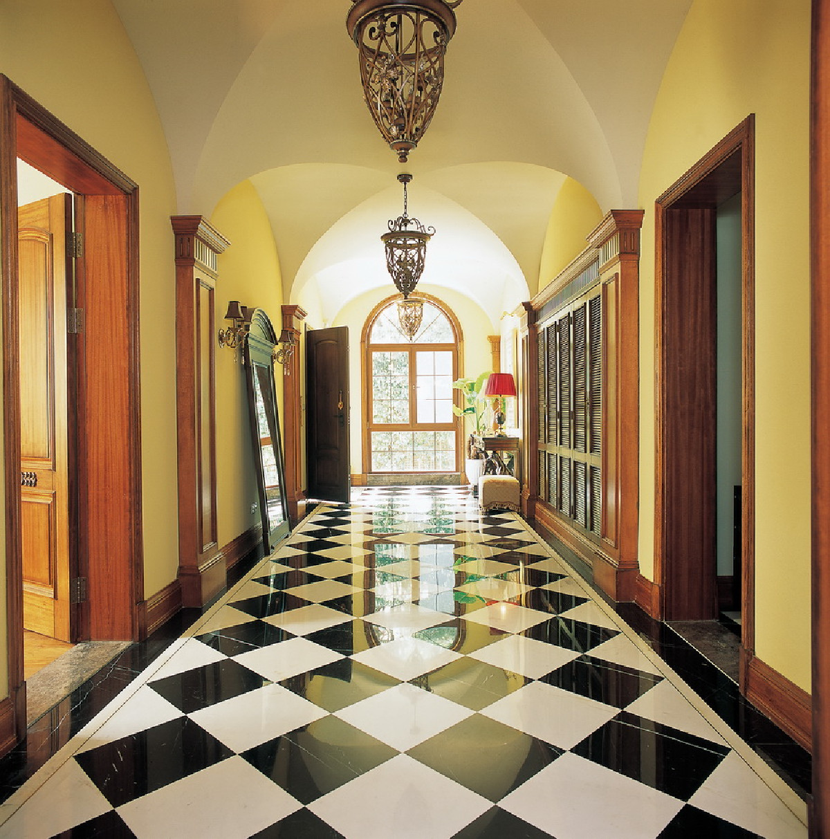 圣安德鲁斯别墅项目装修美式风格完工实景展示,上海腾龙别墅设计师孙俊作品,欢迎品鉴