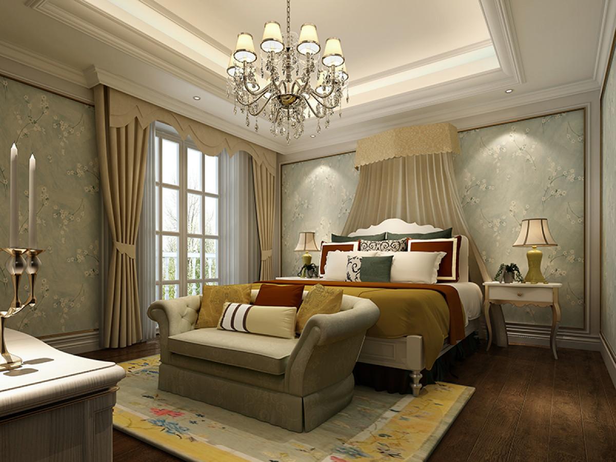 九龙仓壁堤半包520平别墅项目装修欧式古典风格设计,上海腾龙别墅设计作品,欢迎品鉴!