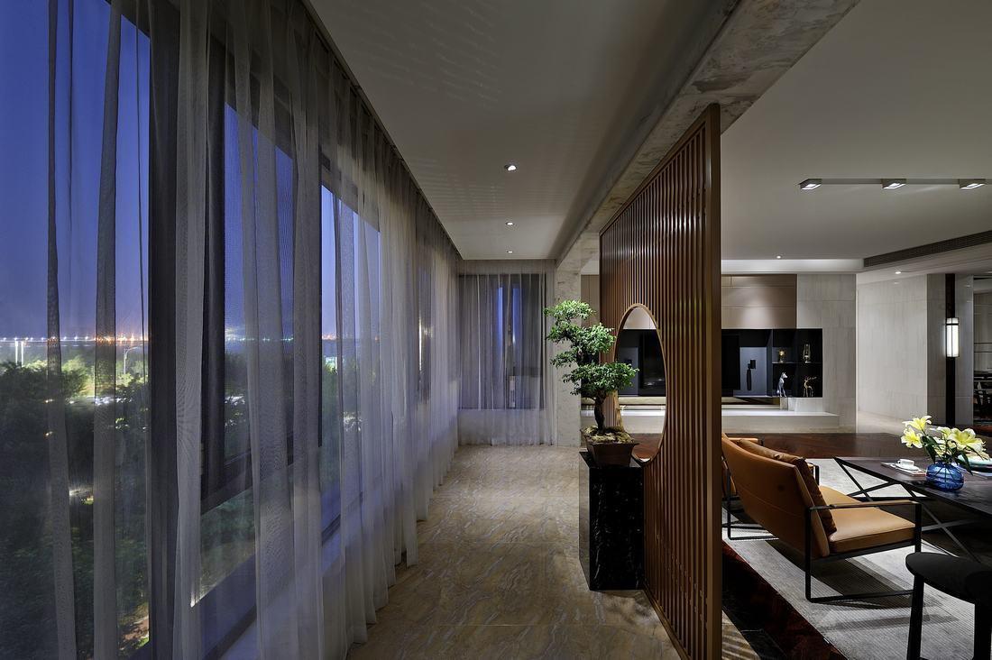 上海豪宅 汤臣一品 装修设计 中式风格 客厅图片来自孔继民在汤臣一品图片
