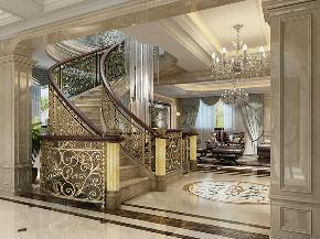 复地香栀花 香栀花园 别墅装修 欧式古典 腾龙设计 楼梯图片来自腾龙设计在复地香栀花园300平别墅欧式古典的分享