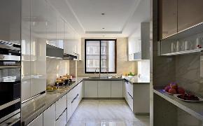 上海豪宅 汤臣一品 装修设计 中式风格 厨房图片来自周峻在汤臣一品豪宅项目装修新中式设计的分享