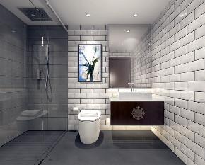别墅 白领 收纳 80后 小资 中式 新中式 卫生间图片来自圣奇凯尚室内设计工作室在中式韵味私人会所的分享
