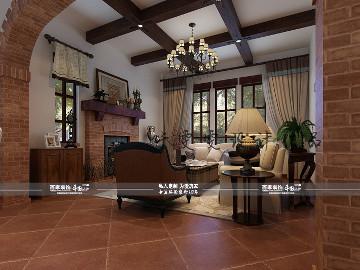 碧桂园300平美式风格半包15万