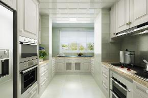 欧式 三居 白领 80后 小资 厨房图片来自装家美在当代MOMA沿湖城149平米简欧风的分享