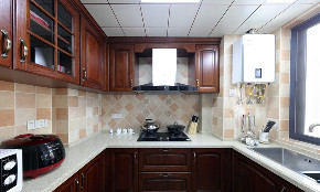 三居 美式 厨房图片来自言白设计在心航的分享