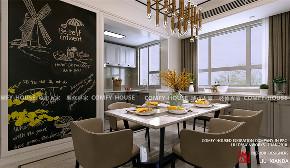 简约 现代 餐厅图片来自济南城市人家装修公司-在中国mall城市之星现代装修案例的分享